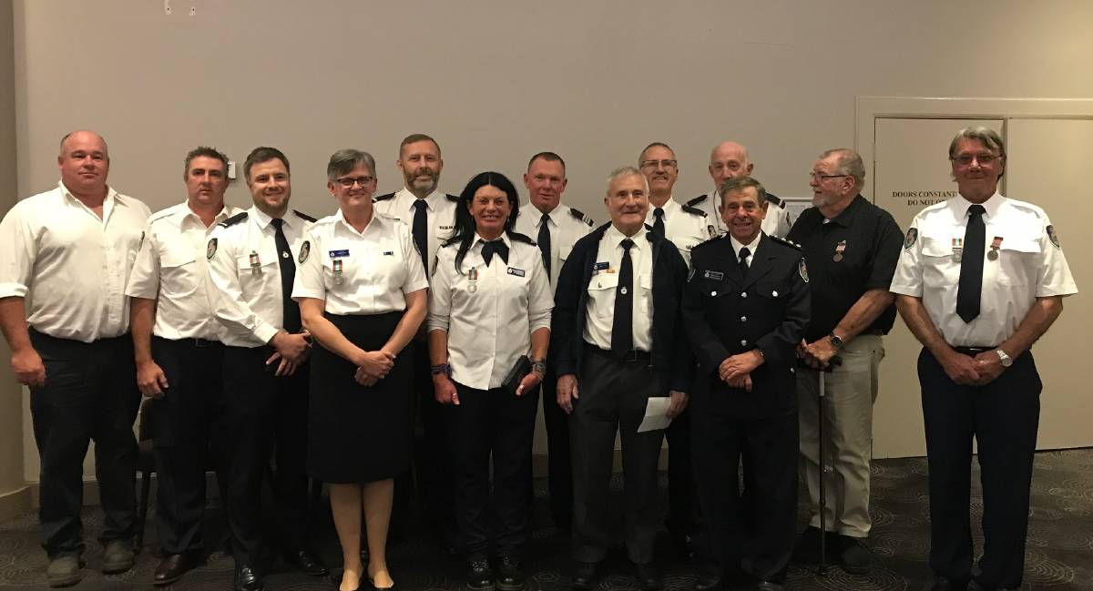 RFS volunteers from the Wollondilly Shire have been recognised for their dedicated service with the NSW RFS Southern Highlands team.