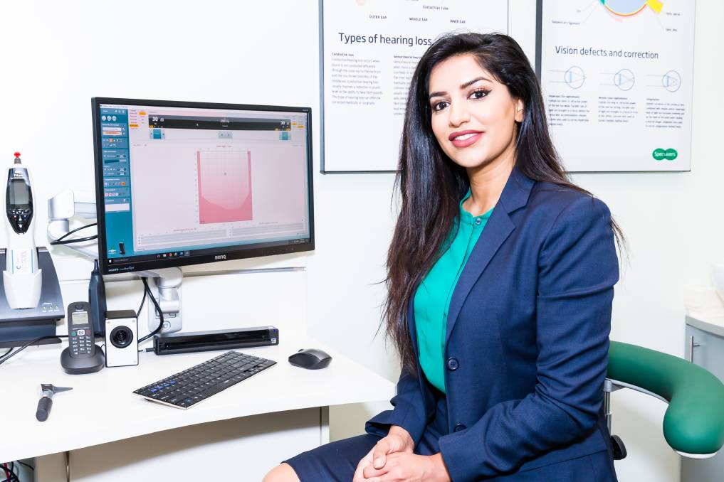 Listen up: Campbelltown audiologist Heena Khan says it's vitally important to keep your hearing in check. Head in store to learn more.