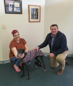 Wollondilly MP welcomes greyhound tracking system