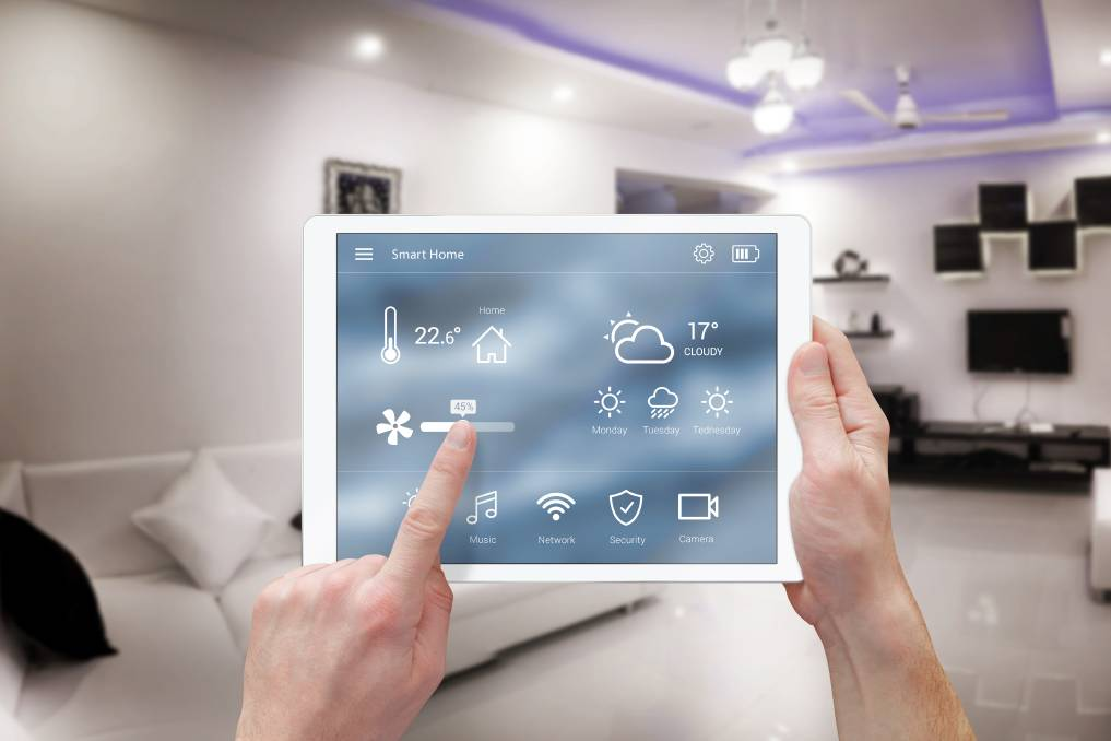 Control: New technology allows you to control everything in your house including temperature, lighting, audio and home security. Photo: Shutterstock.